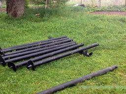 Собственное производство винтовых свай для винтовых фундаментов и заборов